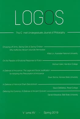 LOGOS Undergraduate Philosophy Journal