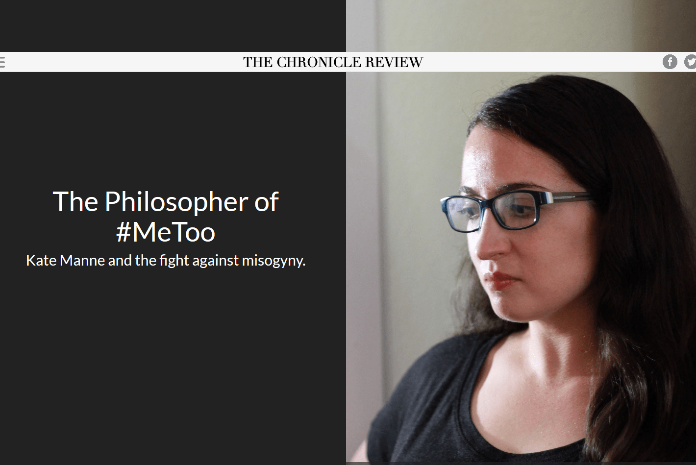 The Philosopher of #MeToo - Prof. Kate Manne